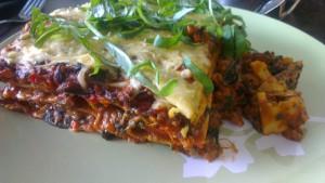 Veggie lasagne met spinazie