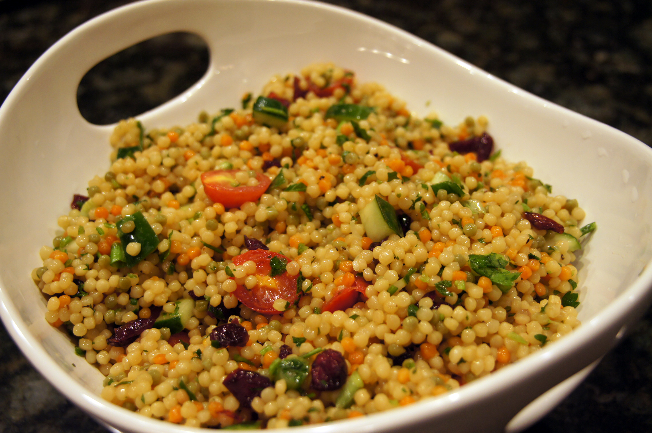 Couscous in tomatensaus
