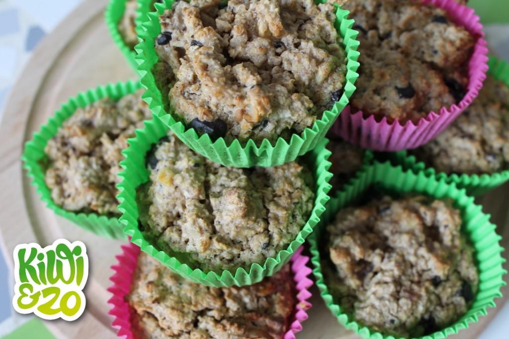 Makkelijk ontbijt: havermoutmuffins