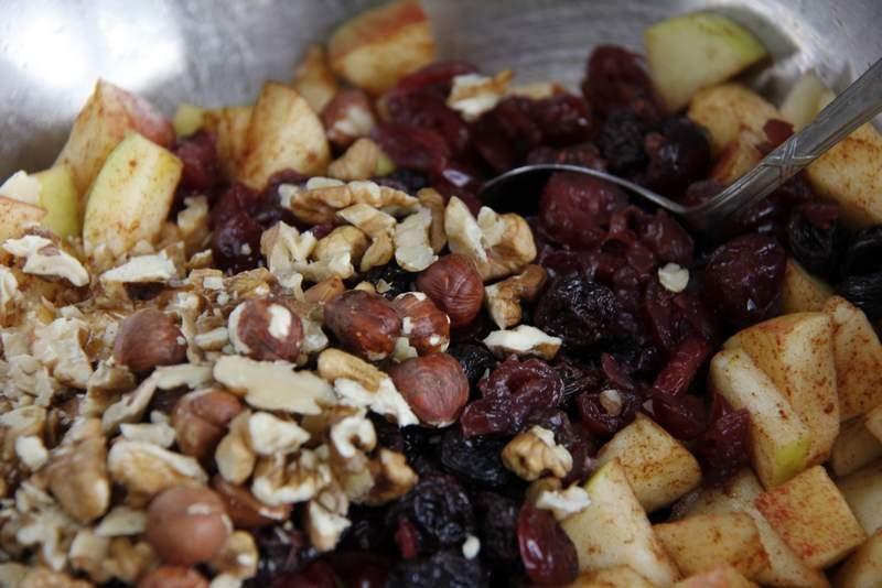 Glutenvrije appeltaart van de voedselzandloper